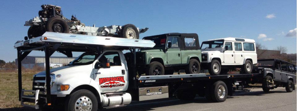 We can tow multiple cars in one trip at Intercoastal Towing Geocode: @34.2608454,-77.8488667