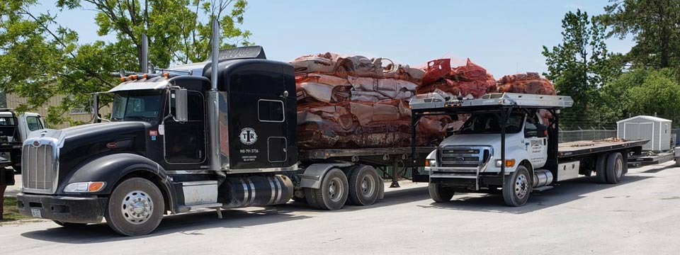 logistic services in wilmington nc with big rig 18 wheeler and four car hauler