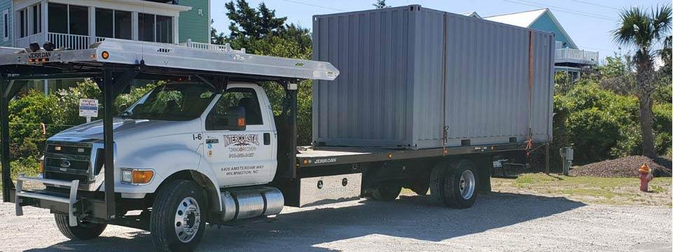 We move storage containers in Wilmington NC Geocode: @34.2608454,-77.8488667